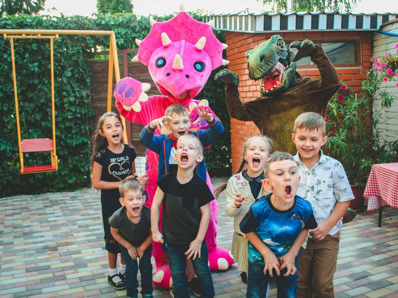 Дино Пати на деткий день рождения от Ивент агентства