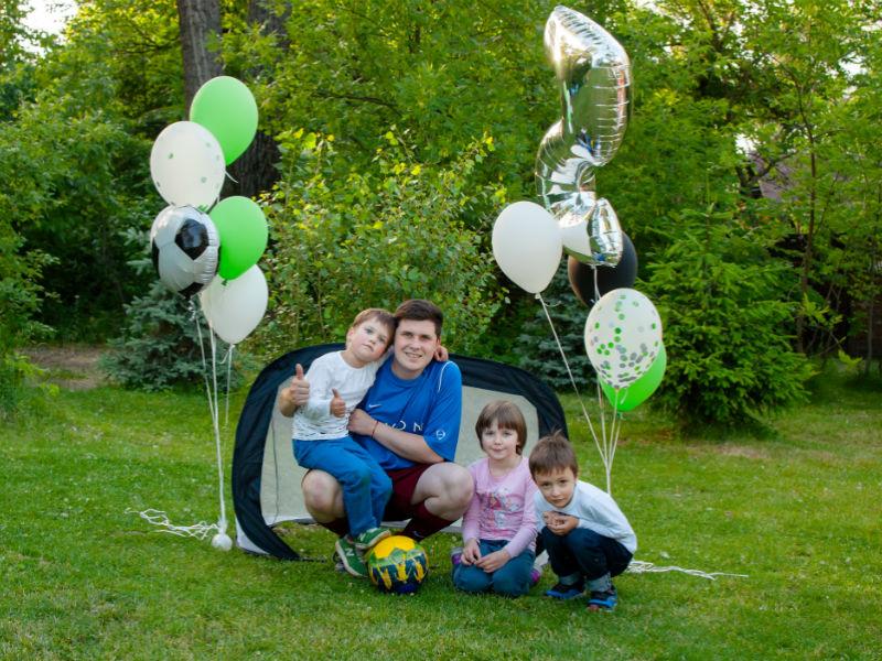 Как проходит детский день рождения на природе летом