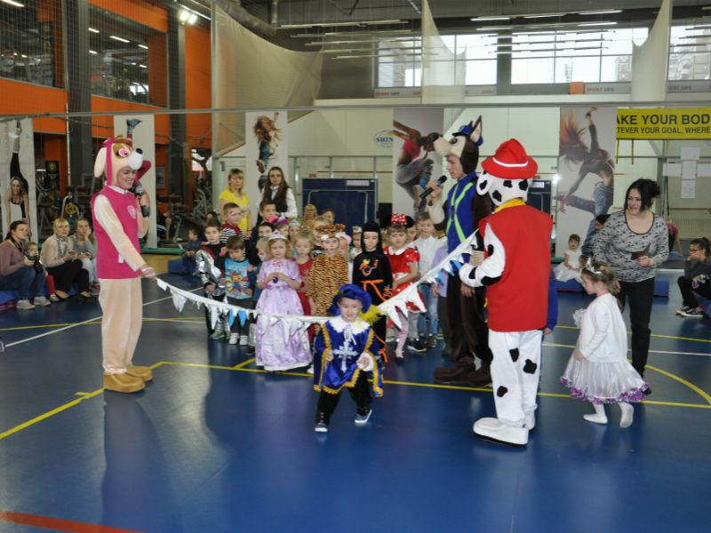 Детский Новогодний корпоратив в Спортлайфе