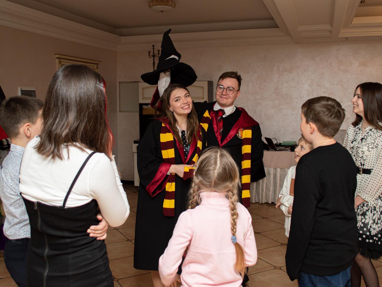 Гарри Поттер и его подруга