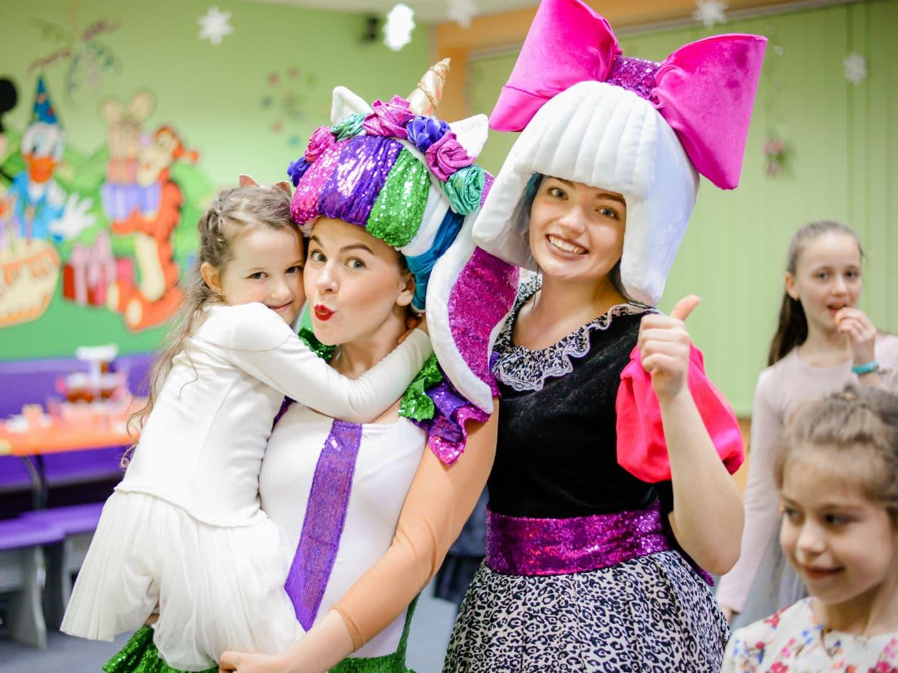 Детский праздник в стиле куколок лол