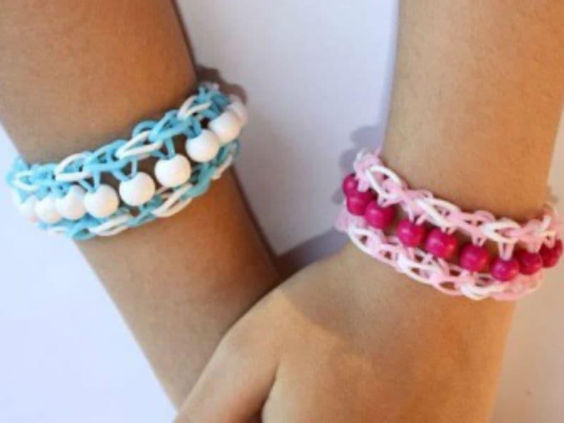 Мастер-класс для детей браслеты из резинок Киев