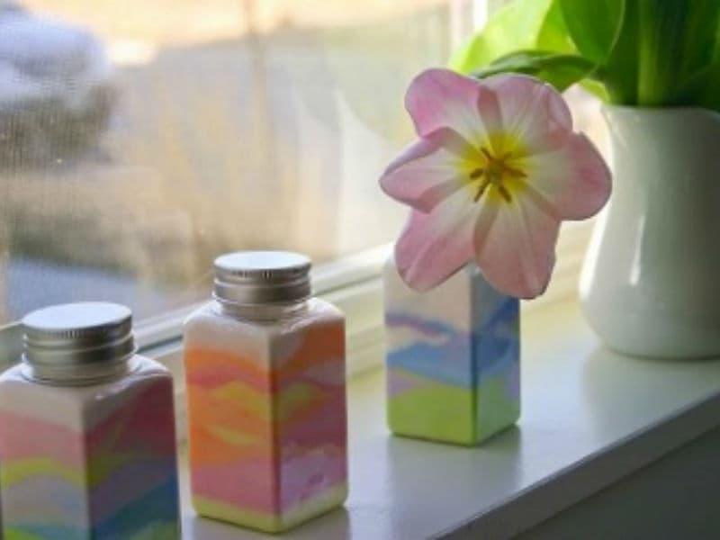 Разноцветный песок в бутылке мастер-класс от ивент агентства Syrup