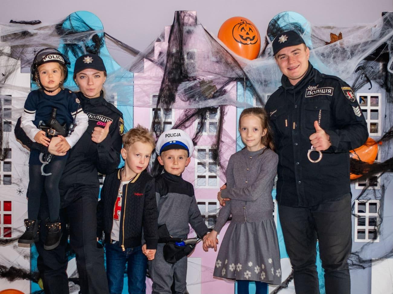 Детский день рождения в стиле «Полицейская академия»