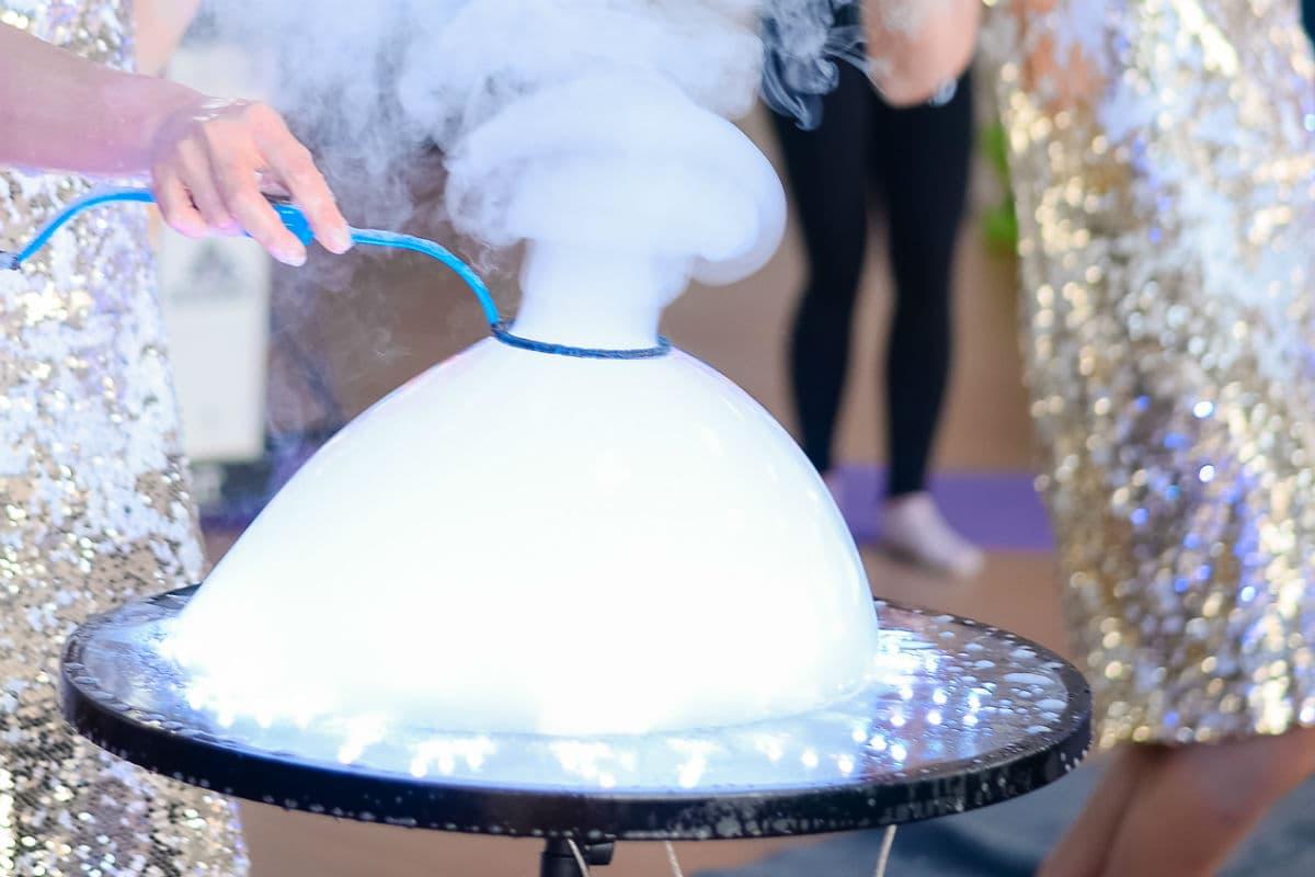 Заказать шоу мыльных пузырей