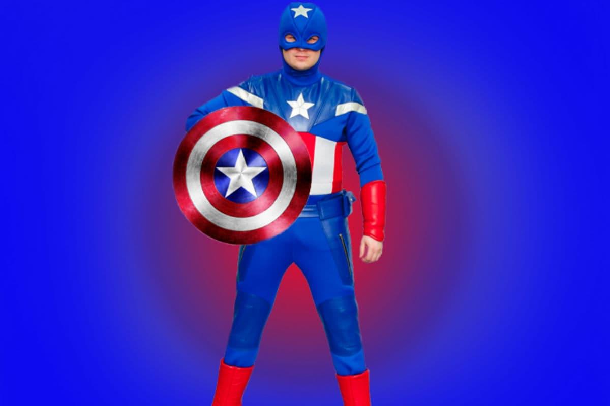 Капитан Америка на день рождение ребенка